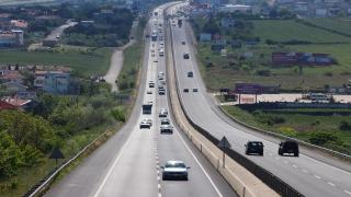 Tekirdağİstanbul yolunda trafik yoğunluğu yaşanıyor