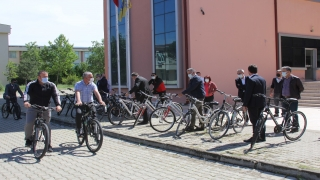 Trakya Üniversitesinde bisiklet turu düzenlendi