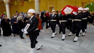 Şehit polis memurunun cenazesi Edirne'de toprağa verildi