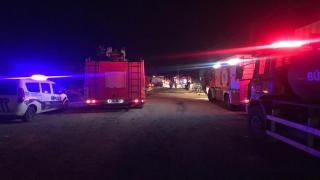 Tekirdağ'da çıkan yangında iki fabrika hasar gördü