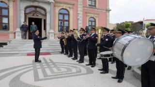Mişel, 17 yaşında 'trompet' çaldığı bandoya 66 yıl sonra şeflik yaptı