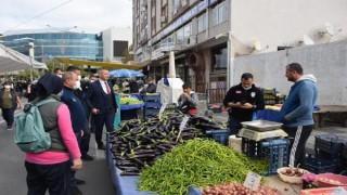Süleymanpaşa'da pazarcılar denetlendi