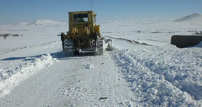 Süleymanpaşa'da Kar Yağışı Etkisini Artırdı