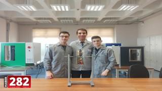 """Lise öğrencileri """"Otonom Lastik"""" projesiyle Tekirdağ'ı temsil edecek"""