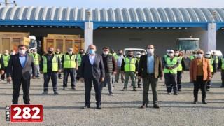 Başkan Ata, Personeli İle Bir Araya Geldi