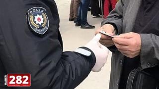 Çorlu'da sokağa çıkma yasağına uymayan 20 yaş altı 4 kişiye ceza