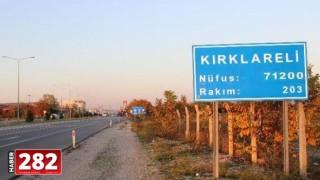 Kırklareli'nde bir köy karantinaya alındı