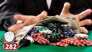 Tekirdağ'da bir iş yerinde kumar oynayan 12 kişiye 49 bin 800 lira ceza