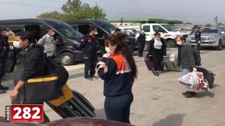 Edirne'de gözetim süresi dolan 19 kişi evlerine gönderildi