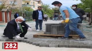 Ergene Belediyesi Yol Çalışmalarına Aksatmadan Devam Ediyor