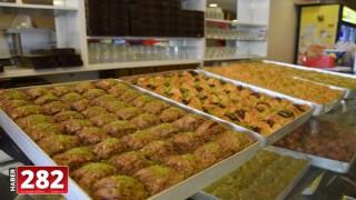 Hayrabolu'da tatlıcılarda ramazan bereketi