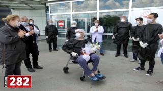 Koronavirüs tedavisi gören Kırklareli Belediye Başkan Yardımcısı Mehmet Gider, taburcu edildi