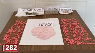Tekirdağ'da çok sayıda uyuşturucu hapla yakalanan zanlılar tutuklandı