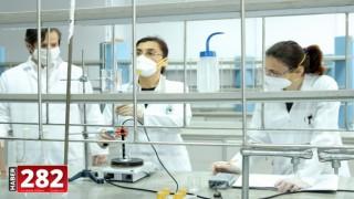 Trakya Üniversitesinde günde 8 ton dezenfektan üretiliyor