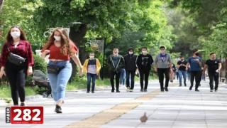 Trakya'da 15-20 yaş grubundaki gençler uzun zaman sonra ilk kez sokağa çıktı