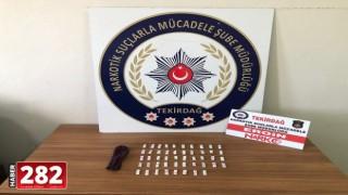 Çorlu'da uyuşturucu operasyonunda 1 kişi gözaltına alındı
