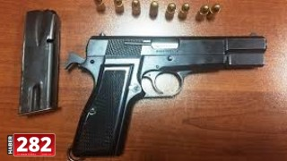 Çorlu'da üzerinde ruhsatsız silah ele geçirilen kişi gözaltına alındı