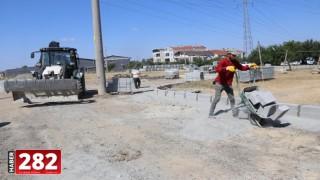 Ergene Belediyesi Yol Yapım Çalışmalarına Aralıksız Devam Ediyor