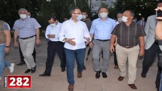 Gençlik ve Spor Bakanı Kasapoğlu Tekirdağ'da: