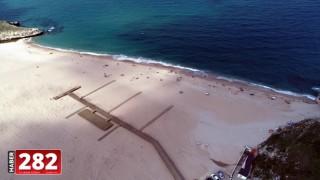 Kırklareli Kıyıköy sahilinde kirliliğin azaldığı belirlendi