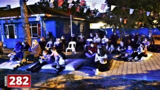 Kırsal mahallelerde yazlık sinema keyfi sürüyor