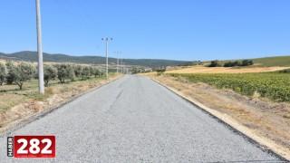 Şarköy'ün Şenköy Mahallesi'nde Yol Yapımı Tamamlandı