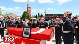 Şehit Astsubay Kıdemli Başçavuş Akgöz, Tekirdağ'da son yolculuğuna uğurlandı