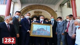 TBMM Başkanı Mustafa Şentop Tekirdağ'da ziyaretlerde bulundu