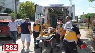Tekirdağ'da elektrik akımına kapılan genç ağır yaralandı