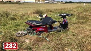 Tekirdağ'da minibüsle çarpışan motosikletin sürücüsü öldü