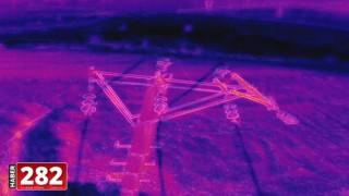 Trakya'da enerji nakil hatlarının bakımı drone yardımıyla yapılıyor