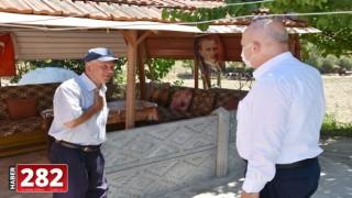 Hayrabolu Belediye Başkanı İnan şehit ailelerini ziyaret etti