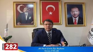 AK Parti Çorlu ilçe Başkanlığı Sandık Başına Gidiyor