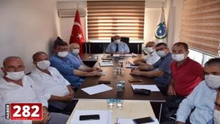 Başkan Albayrak Çorlu'da Mahalle Muhtarları İle Buluştu