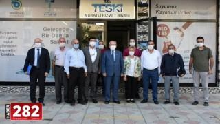 Başkan Albayrak Muratlı'da Mahalle Muhtarları İle Buluştu