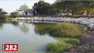 Ergene Belediyesi Velimeşe Göleti'nde Çalışmalarını Sürdürüyor