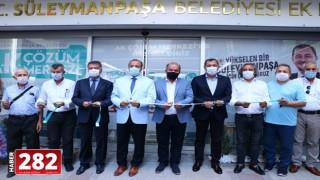 """Tekirdağ'da """"AK Çözüm Merkezi"""" hizmete açıldı"""
