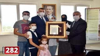 """Tekirdağ'da """"Devlet Övünç Madalyası Tevcih Töreni"""""""