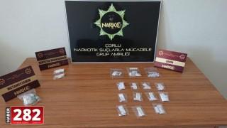 Tekirdağ'da uyuşturucu operasyonunda 17 şüpheli gözaltına alındı