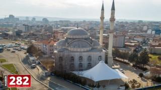 Çorlu Merkez Camii'ne Modern Tente