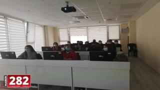 Ergene Kültür Merkezi'nde bilgisayar kursu başladı