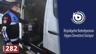 Tekirdağ Büyükşehir Belediyesi'nin Hijyen Denetimi Sürüyor