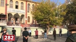 Tekirdağ Güzel Sanatlar Lisesi Öğrencilerinden Tekirdağ'da 1000 Okul Projesi Kapsamındaki on bir okuldan 160 öğrenciye sanat eğitimi