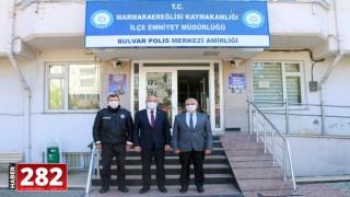 BAŞKAN HİKMET ATA, POLİS HAFTASINI KUTLADI
