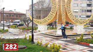 Süleymanpaşa Belediyesi salgın mücadelesine her alanda devam ediyor