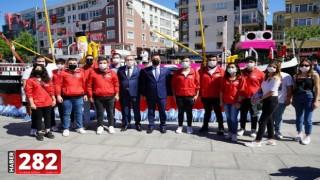 Bandırma Vapuru Eşliğinde 19 Mayıs Coşkusu