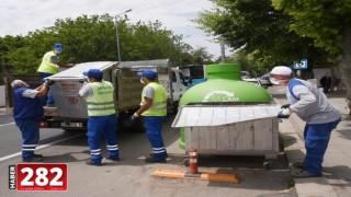 Bir Haftada 67 Çöp Konteyneri Yenilendi