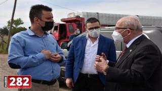 Büyükşehir ile Çorlu Belediyesi Arasında Yatırım Değerlendirme Toplantısı Gerçekleştirildi