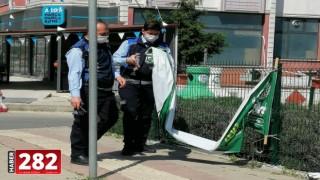 Çorlu'da İzinsiz Afiş ve Tabelalar Kaldırıldı