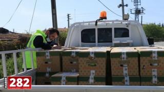 Marmaraereğlisi Belediyesi Ramazan Ayı Erzak Paketlerini Teslim Ediyor